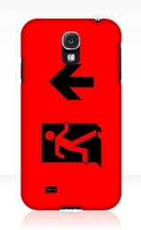 Running Man Exit Sign Samsung Galaxy Mobile Phone Case 48