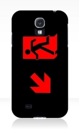 Running Man Exit Sign Samsung Galaxy Mobile Phone Case 5