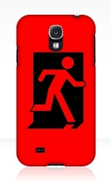 Running Man Exit Sign Samsung Galaxy Mobile Phone Case 53