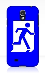 Running Man Exit Sign Samsung Galaxy Mobile Phone Case 56