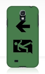 Running Man Exit Sign Samsung Galaxy Mobile Phone Case 61