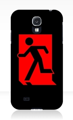 Running Man Exit Sign Samsung Galaxy Mobile Phone Case 7