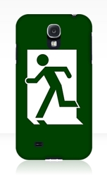 Running Man Exit Sign Samsung Galaxy Mobile Phone Case 82
