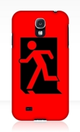 Running Man Exit Sign Samsung Galaxy Mobile Phone Case 85
