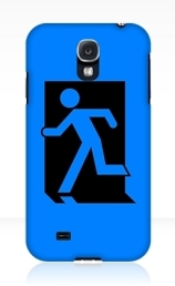 Running Man Exit Sign Samsung Galaxy Mobile Phone Case 87