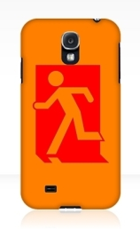 Running Man Exit Sign Samsung Galaxy Mobile Phone Case 88