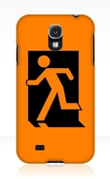 Running Man Exit Sign Samsung Galaxy Mobile Phone Case 89