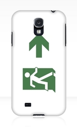 Running Man Exit Sign Samsung Galaxy Mobile Phone Case 9