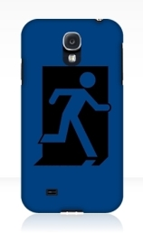 Running Man Exit Sign Samsung Galaxy Mobile Phone Case 94