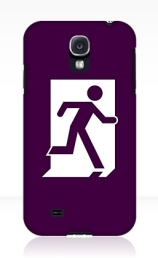 Running Man Exit Sign Samsung Galaxy Mobile Phone Case 96