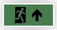 Running Man Exit Sign Sticker Decals 19