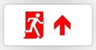Running Man Exit Sign Sticker Decals 65