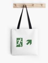 Running Man Exit Sign Tote Shoulder Carry Bag 114