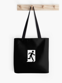 Running Man Exit Sign Tote Shoulder Carry Bag 149