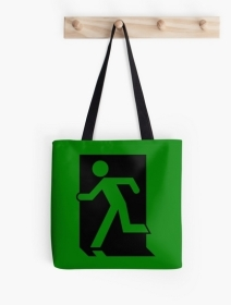 Running Man Exit Sign Tote Shoulder Carry Bag 39