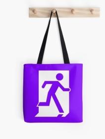 Running Man Exit Sign Tote Shoulder Carry Bag 64
