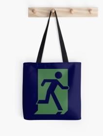 Running Man Exit Sign Tote Shoulder Carry Bag 67