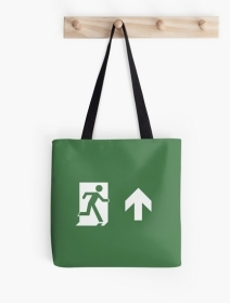 Running Man Exit Sign Tote Shoulder Carry Bag 9