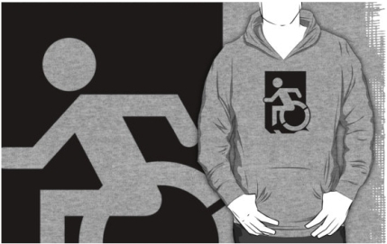 Accessible Means of Egress Icon Adult t-shirt 115