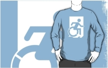 Accessible Means of Egress Icon Adult t-shirt 119