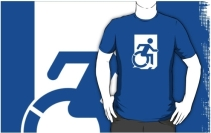 Accessible Means of Egress Icon Adult t-shirt 126