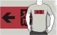 Accessible Means of Egress Icon Adult t-shirt 13