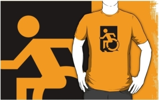 Accessible Means of Egress Icon Adult t-shirt 139