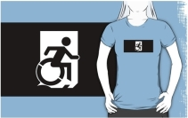 Accessible Means of Egress Icon Adult t-shirt 140