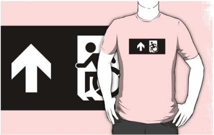 Accessible Means of Egress Icon Adult t-shirt 141