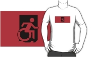 Accessible Means of Egress Icon Adult t-shirt 154