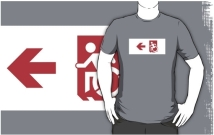 Accessible Means of Egress Icon Adult t-shirt 159