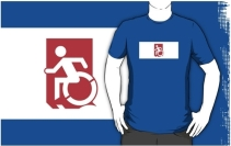 Accessible Means of Egress Icon Adult t-shirt 163
