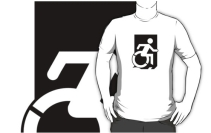 Accessible Means of Egress Icon Adult t-shirt 17