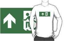 Accessible Means of Egress Icon Adult t-shirt 32