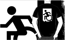 Accessible Means of Egress Icon t-shirt 33