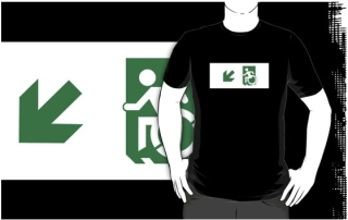Accessible Means of Egress Icon t-shirt 34