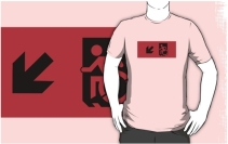 Accessible Means of Egress Icon t-shirt 35