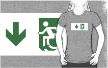 Accessible Means of Egress Icon t-shirt 36