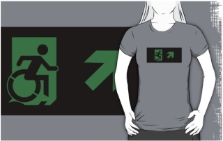 Accessible Means of Egress Icon t-shirt 40