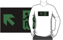 Accessible Means of Egress Icon Adult t-shirt 50