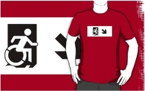 Accessible Means of Egress Icon Adult t-shirt 58
