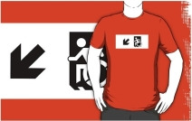 Accessible Means of Egress Icon Adult t-shirt 67