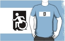 Accessible Means of Egress Icon Adult t-shirt 70