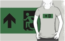 Accessible Means of Egress Icon Adult t-shirt 81