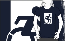 Accessible Means of Egress Icon Adult t-shirt 82
