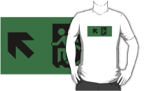 Accessible Means of Egress Icon Adult t-shirt 85