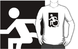 Accessible Means of Egress Icon Adult t-shirt 98