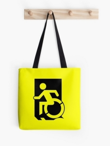 Accessible Means of Egress Icon Tote Bag 1