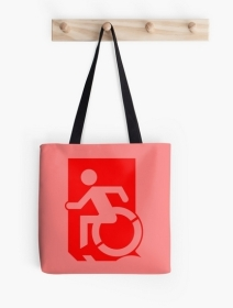 Accessible Means of Egress Icon Tote Bag 137