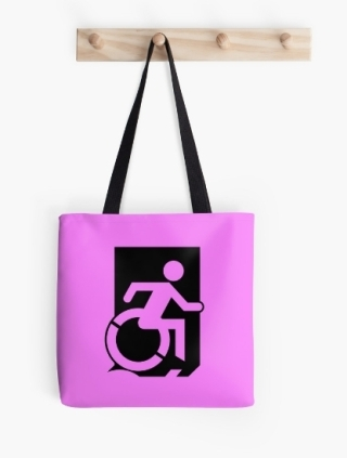 Accessible Means of Egress Icon Tote Bag 138